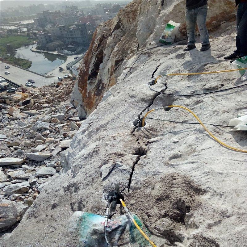 宁德寿宁没有震动玉石矿没有损伤替代放炮采石