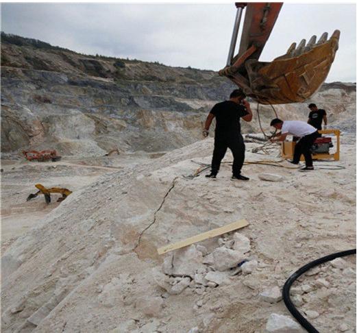 湖南代替放炮开采混凝土石头岩石采矿效率