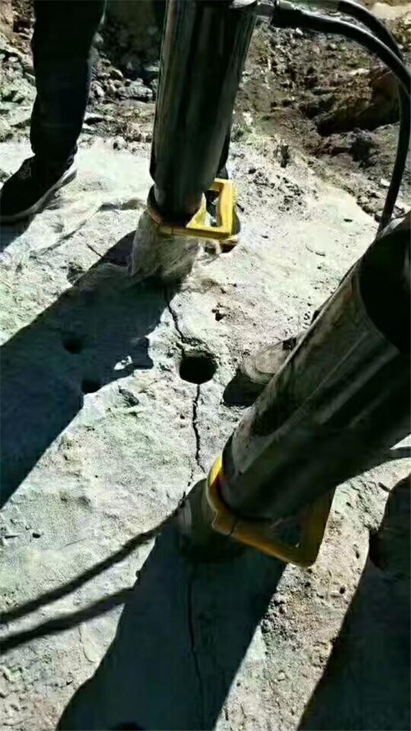 井下巖石開挖劈裂機禹會