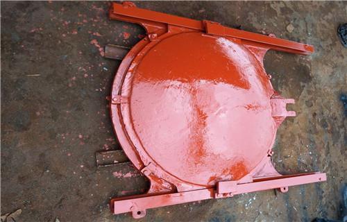 沧州铸铁闸门怎样铸造现场安装图