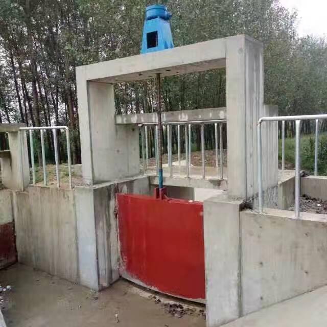 南通钢制闸门精工细作