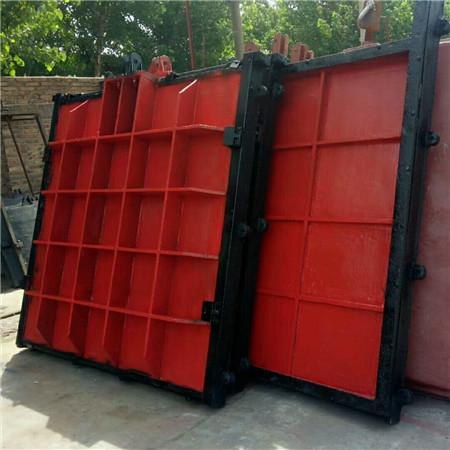 天津渠道式铸铁闸门安装具体参数
