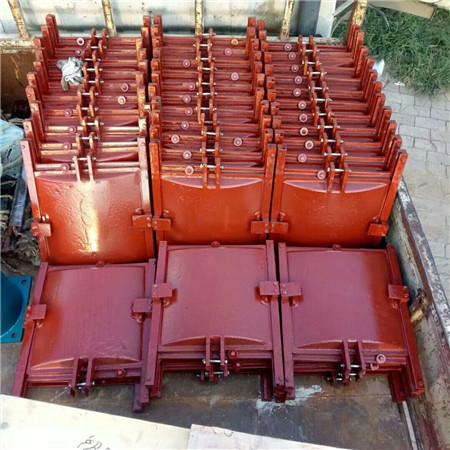 内江平面弧形铸铁闸门重量计算