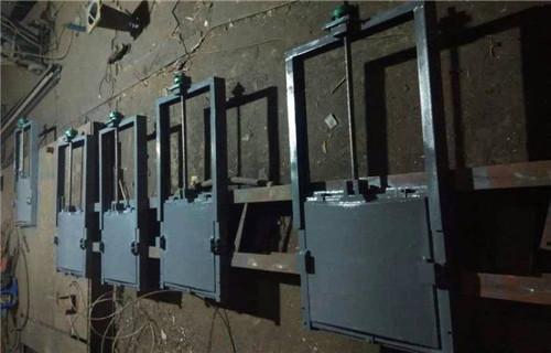 本溪双止水铸铁闸门重量计算