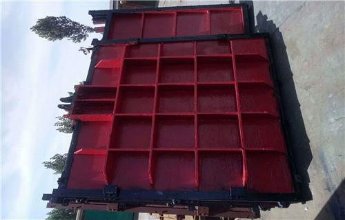 沧州墙式镶铜铸铁闸门使用范围