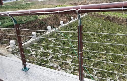 驻马店景区铸造石护栏展翼金属