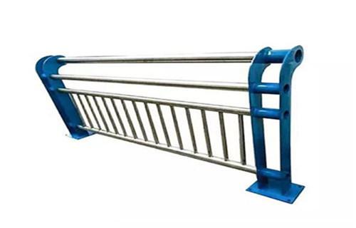 海口不锈钢复合管护栏立柱展翼金属