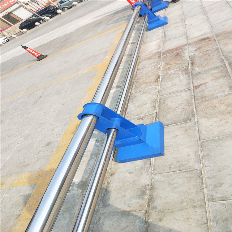 海口复合管道路护栏公路栏杆展翼金属