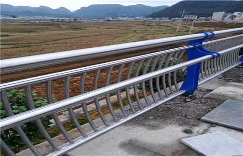 安庆钢板立柱桥梁栏杆