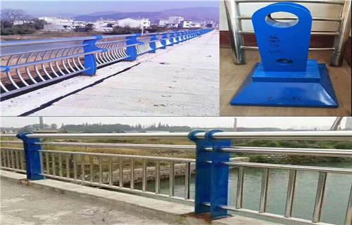 临汾不锈钢桥梁防撞护栏q235钢板立柱