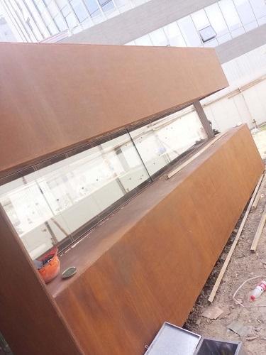景德镇耐候板做锈板的方式