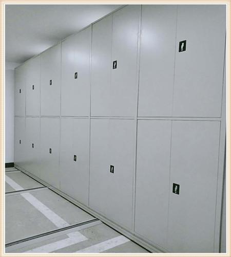 蚌埠校用密集架上門安裝