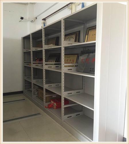北京6层双柱双面式手动密集架