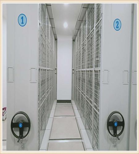 西藏五层双面档案架图书馆书架