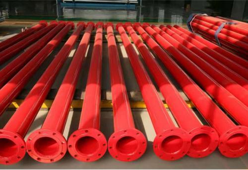 DN150镀锌衬塑复合管规格表