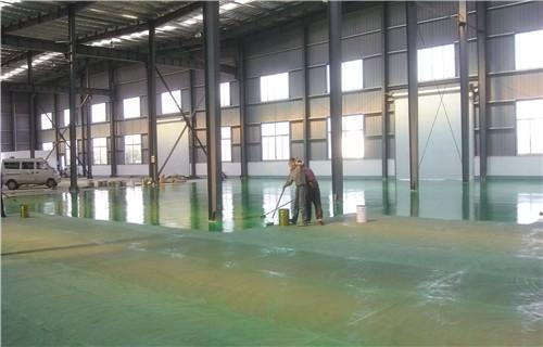 永州道县环氧砂浆地坪加油站地坪厂家施工