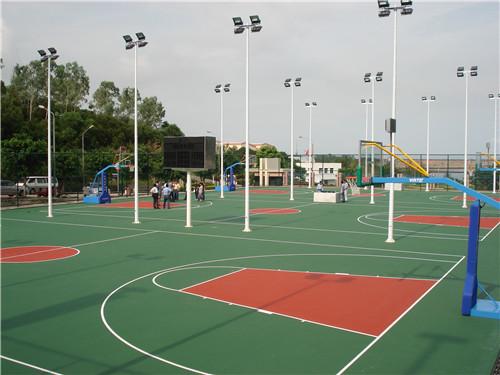 米易篮球场铺设施工工艺