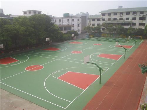 溆浦塑胶球场材料质量保障