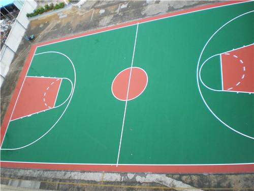 德阳球场地板漆施工工艺