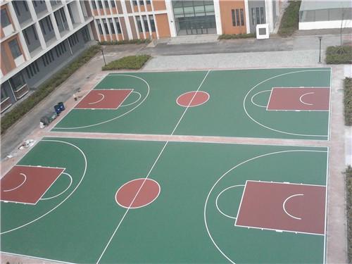 沅陵做篮球场经验丰富