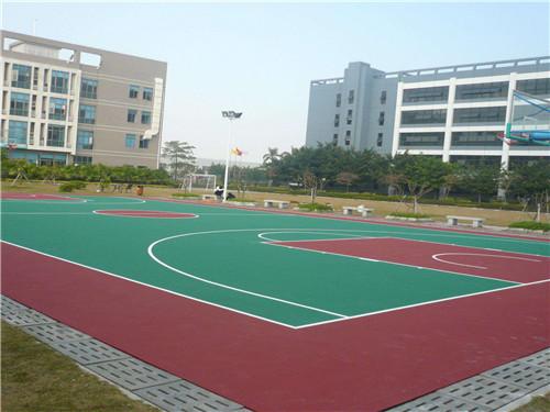 海南丙烯酸篮球场施工正有体育    欢迎你