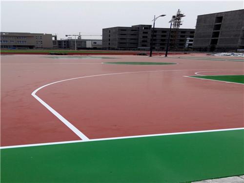 望谟篮球场施工报价可同时进行1万平方施工