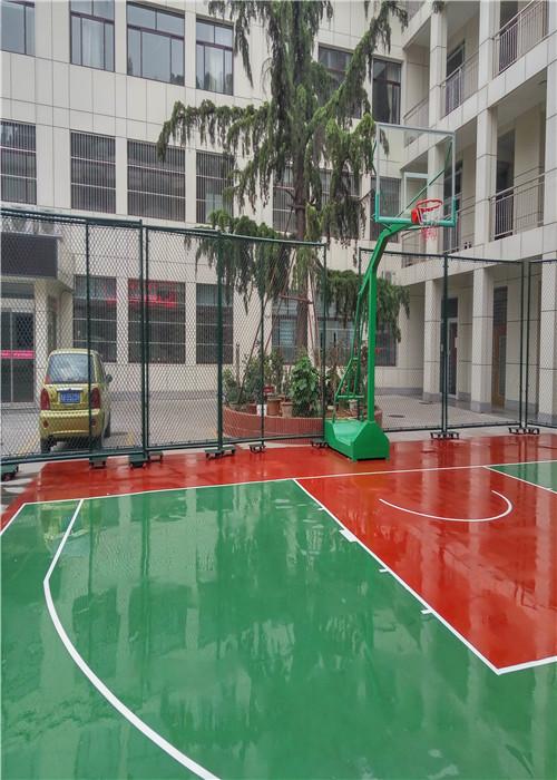 张家界篮球场施工方案施工方便简单