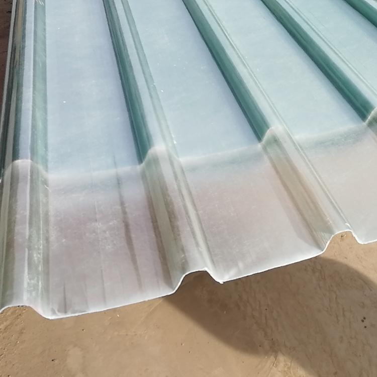 沧州钢结构玻璃纤维防腐瓦 采光板生产厂家
