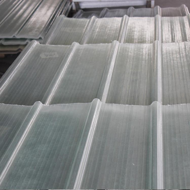 新余钢结构玻璃纤维防腐瓦 采光板生产厂家