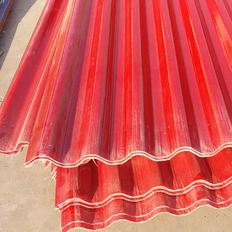 黄冈钢结构玻璃纤维防腐瓦 采光板生产厂家