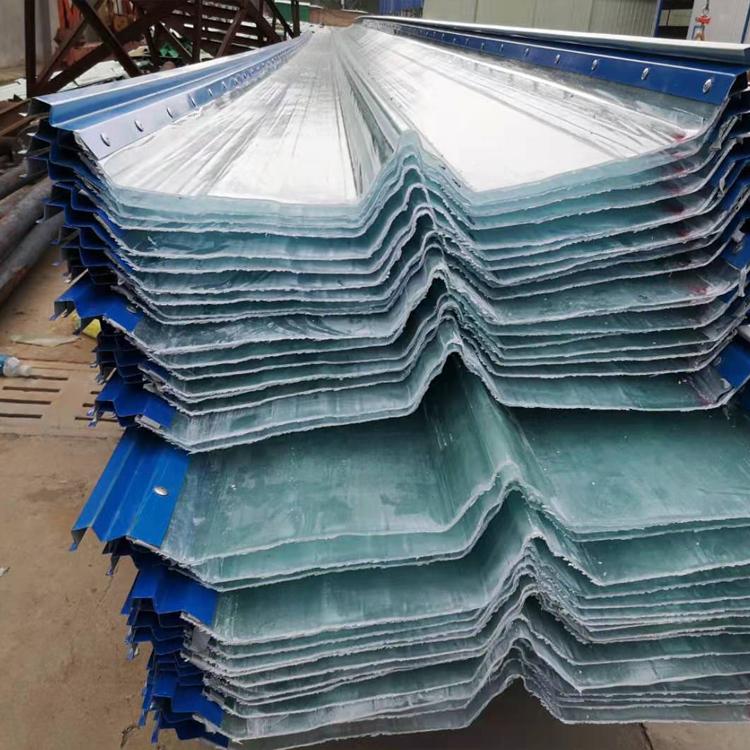 锦州frp阳光板 透明玻璃钢亮瓦 采光板厂家价格