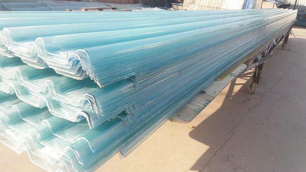 洛阳frp阳光板 透明玻璃钢亮瓦 采光板厂家价格