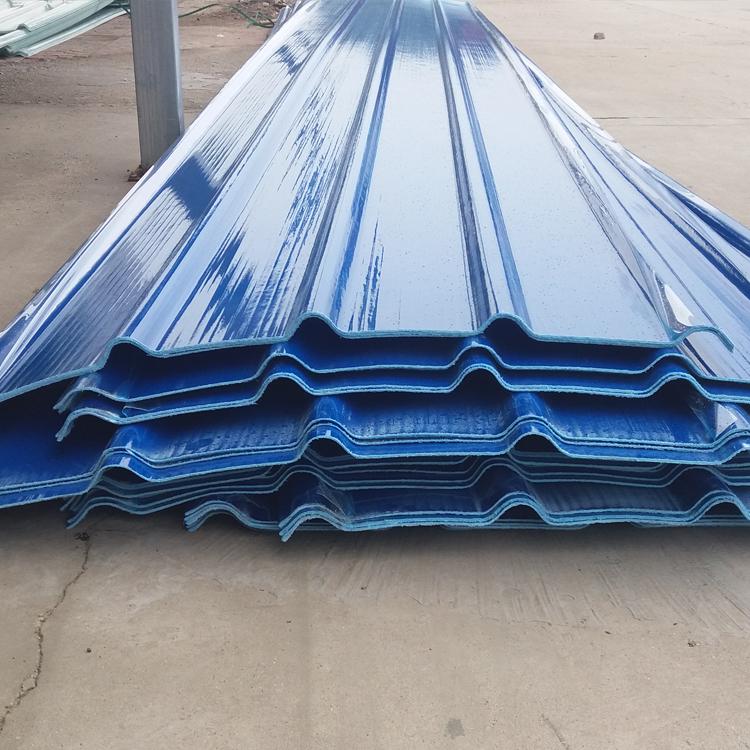 黑龙江化工厂玻璃钢防腐瓦屋面 frp防腐瓦 采光板价格 生产厂家