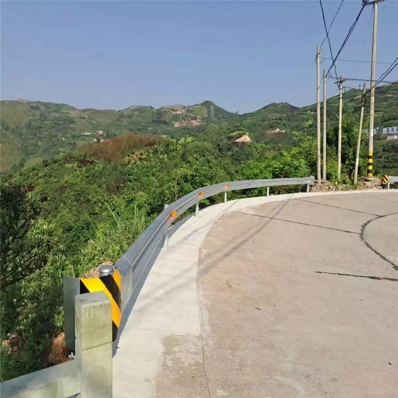 直销福建省厦门GR-A-4E高速护栏板/高速公路双波波形护栏