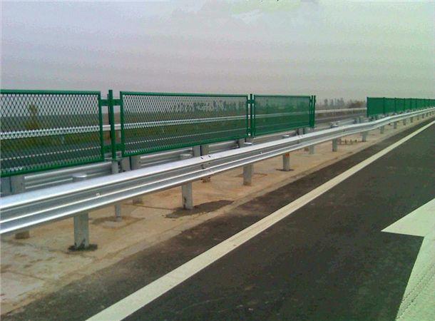 海达直销抚州乡村公路双波护栏板/桥梁牛角护栏
