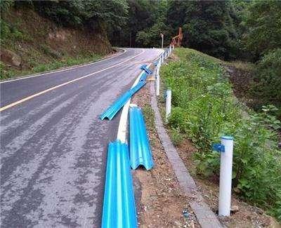 供应长沙波形护栏 路侧双波形防撞护栏