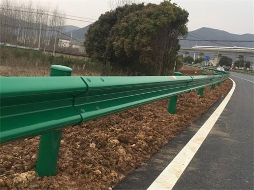 直销广东省惠州高速公路波形梁钢护栏/圆头式路侧波形护栏