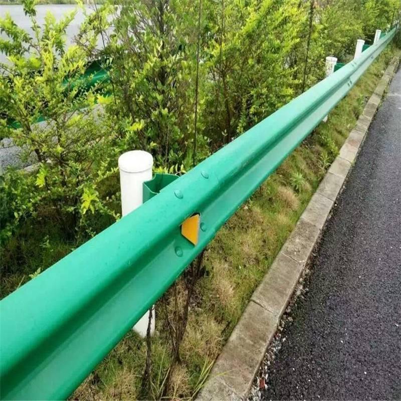 直销江西省新余高速公路波形护栏/圆头式路侧波形护栏