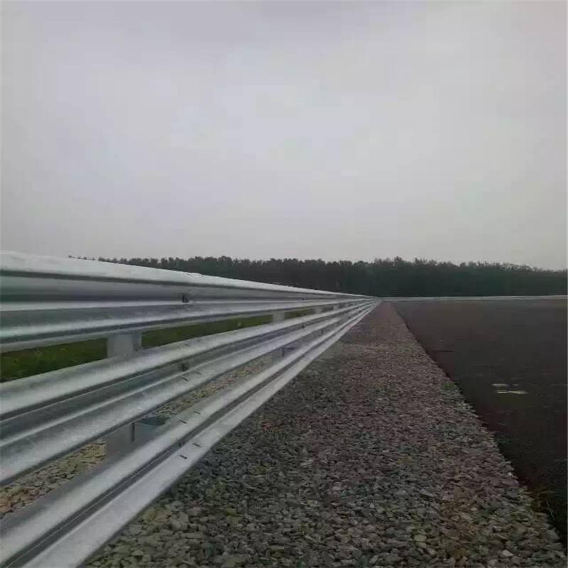 海达直销惠州高速公路防撞波形护栏/高速波形防撞护栏