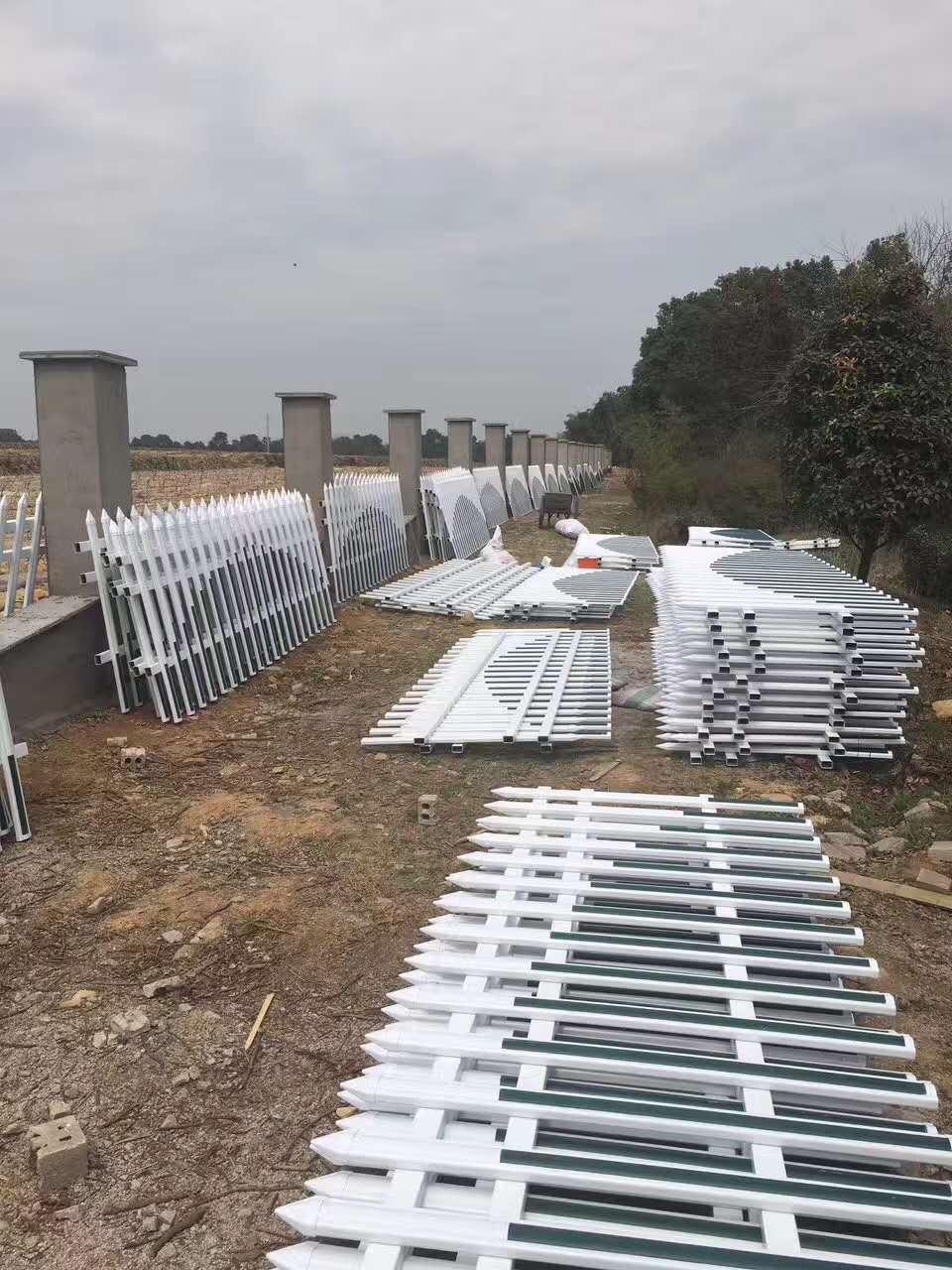 同安厂区工业园锌钢防盗护栏/厂区围墙栏杆 厂家