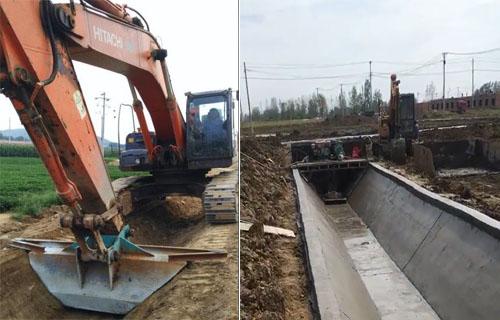 湖南公路排水沟U型渠道滑膜机