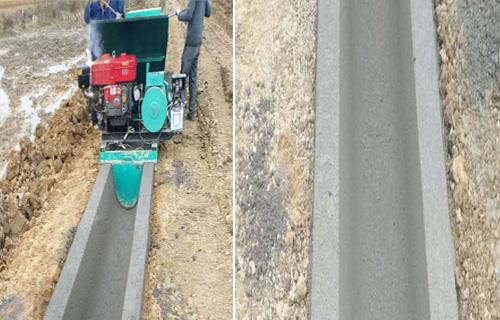 蚌埠U型水渠成型機 全自動邊溝混凝土成型機