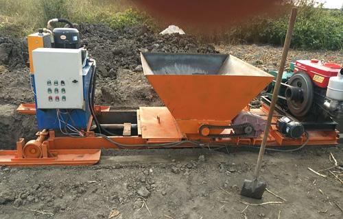 长沙矩形水渠成型机 全自动边沟混凝土成型机