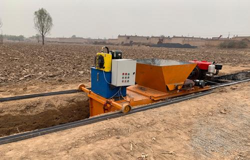 长沙公路方形边沟滑膜机