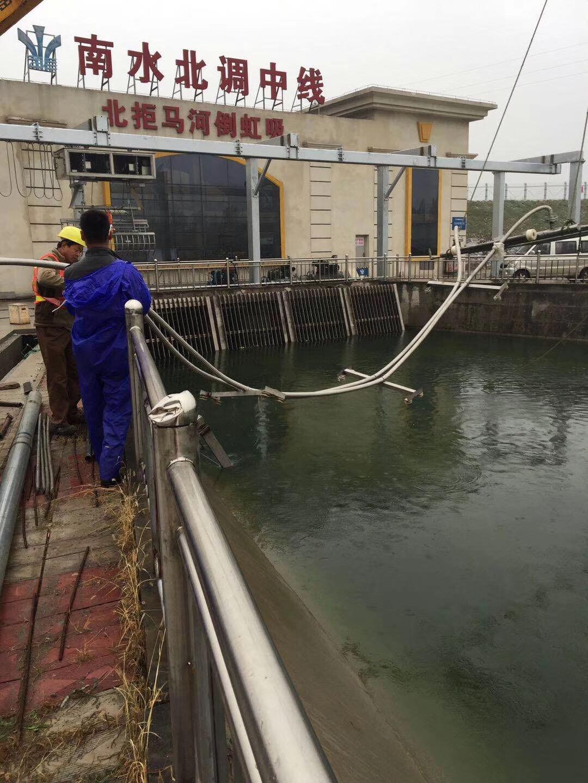 泵房水下检查维修--(海口一鸣惊人