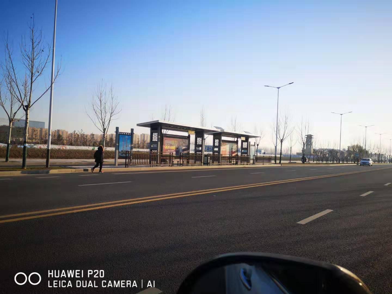 蚌埠快速公交候車亭