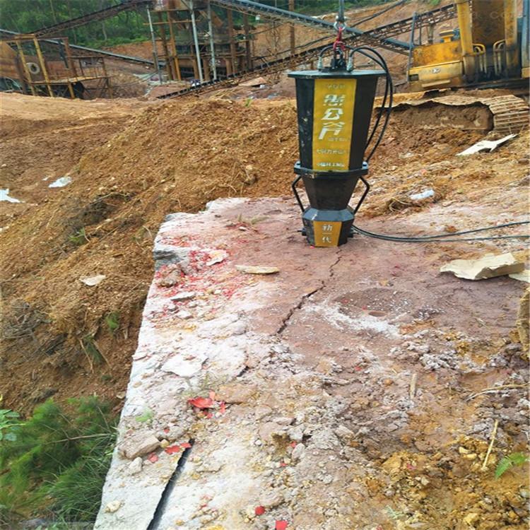 海南石料场开采石头效率高的机器静暴分裂器哪家买