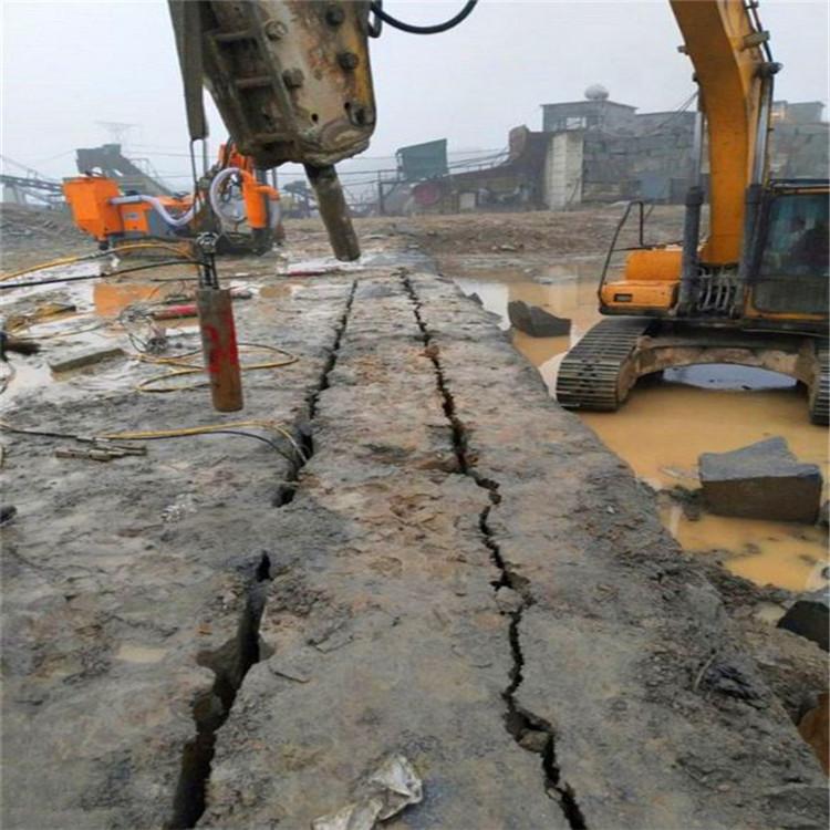 广饶石料场开采石头效率高的机器静暴分裂器批发价格