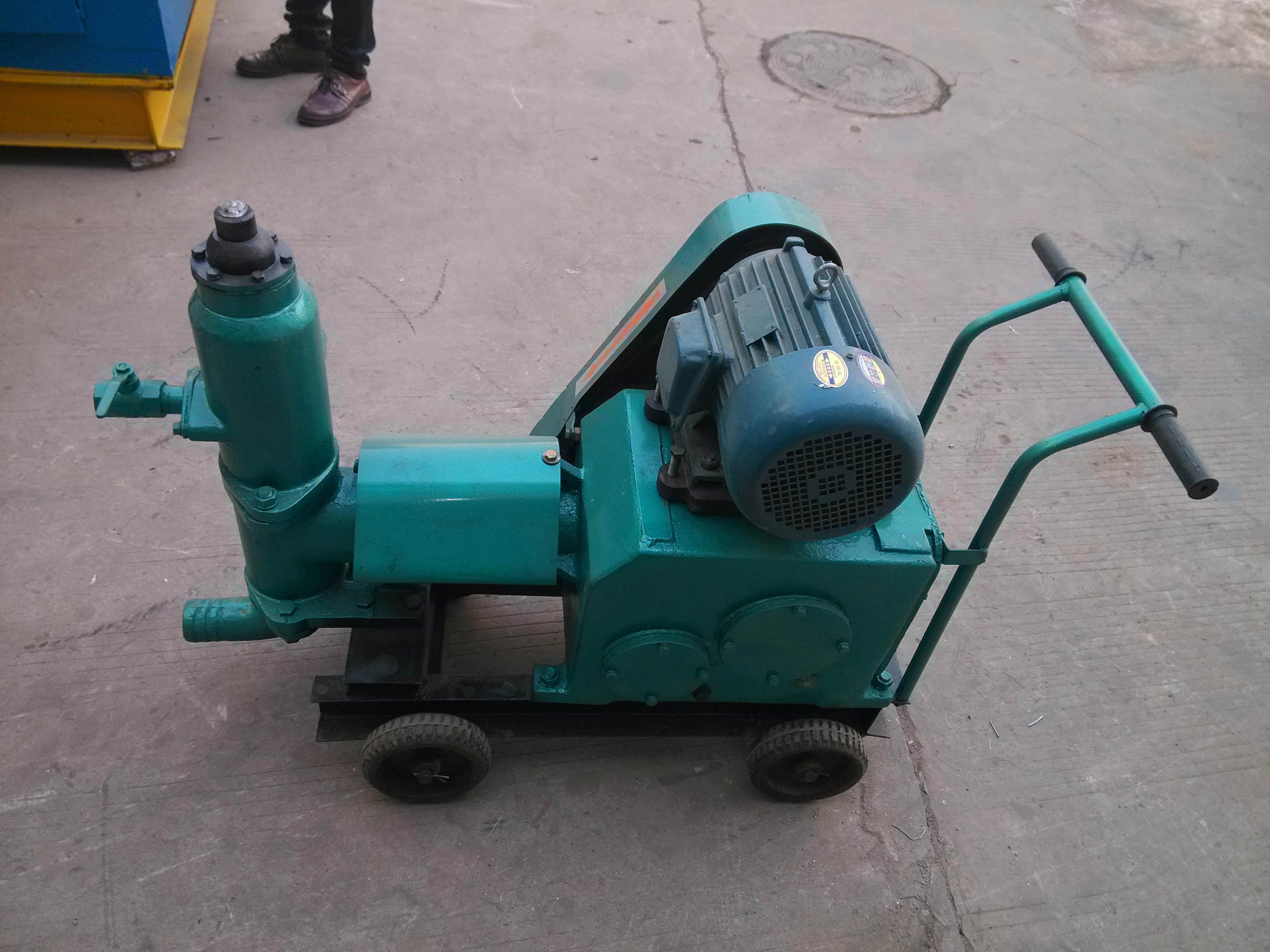 锦州变频调速三缸柱塞泵适合工程压浆机