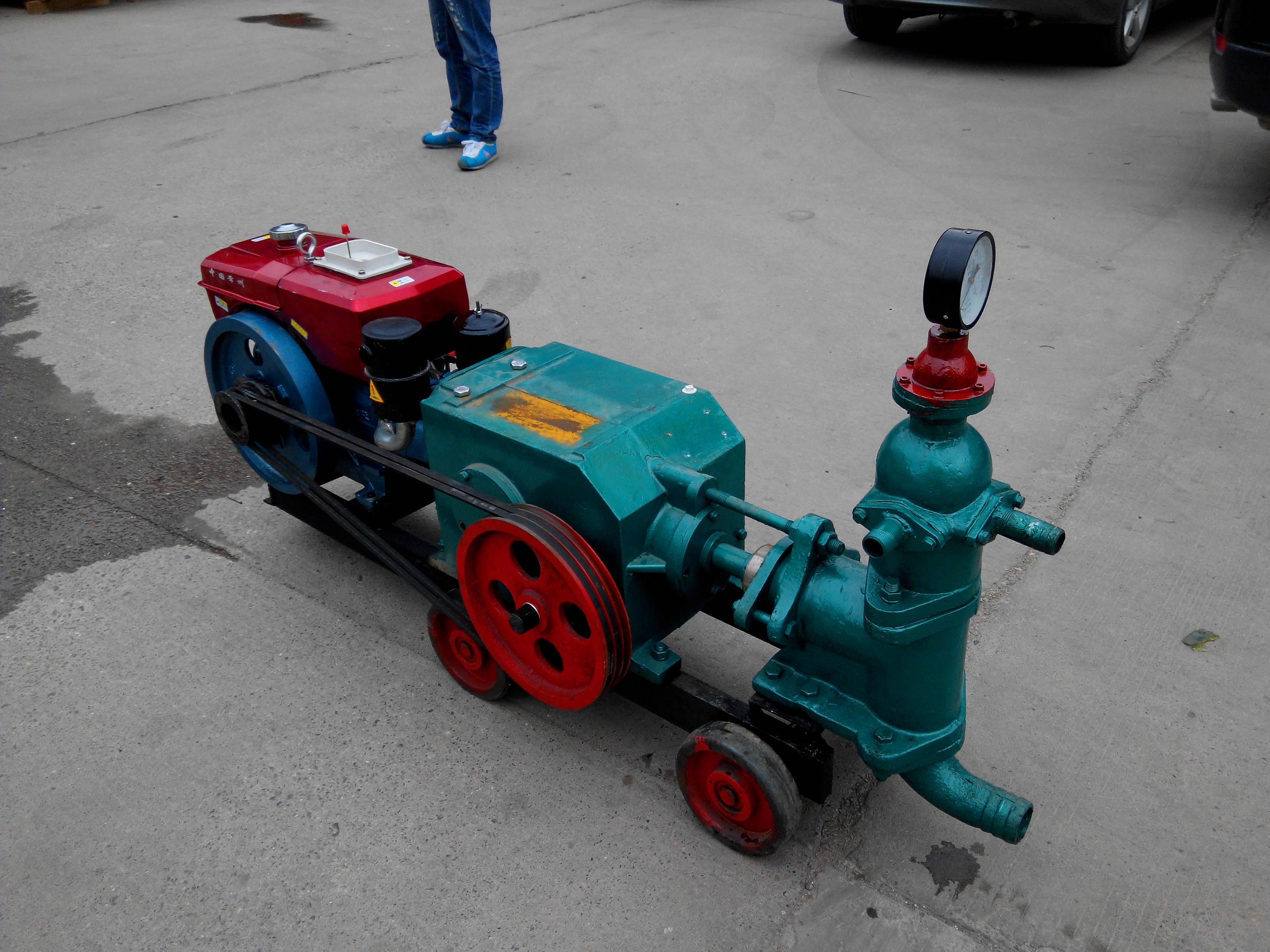 江西分宜县黄泥桨大流量注浆输送厂家供货增压泵